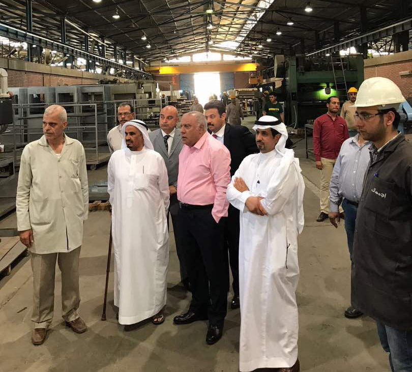 Bin Omairah  visits the factories of EGEMAC and Sheikh Maded praises the quality and excellence of the company's products